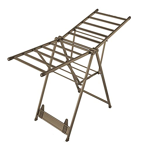 rff Ropa Airer/BALCÓN Interior HOGor for el hogar Free Secking Secking Rack/Rack Edredón de Aluminio (Color : C, Size : 1.6m)