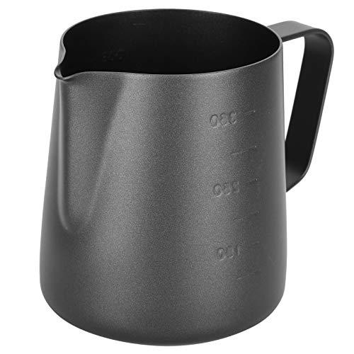 SZHWLKJ Teflon Pull Flower Cup para la oficina en casa doble escala taza de leche cantidad taza flor tipo café tirar cilindro engrosado