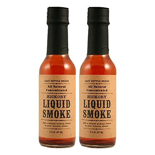 Lazy Kettle All-Natural Liquid Smoke 5 fl oz (Pack of 2)