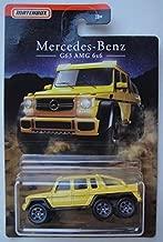 Matchbox Mercedes Benz Series, Yellow Mercedes Benz G63 AMG 6X6