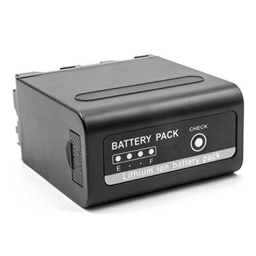 vhbw Batería Li-Ion 10200mAh (7.4V) con USB para cámaras, cámaras Digitales, DSLR Sony DCR-TR7000E, DCR-TR7100E, DCR-TR8000.
