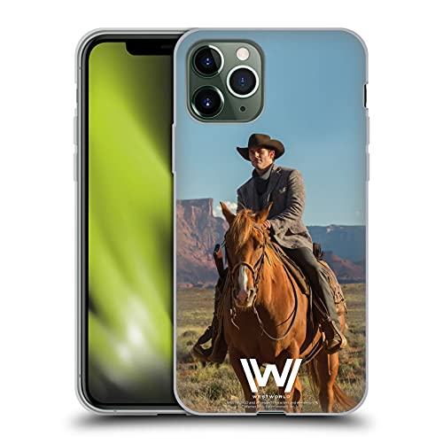 Head Case Designs Offizielle Westworld Teddy Flood Darsteller Soft Gel Handyhülle Hülle Huelle kompatibel mit Apple iPhone 11 Pro