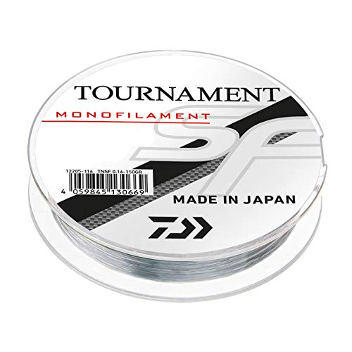 Daiwa Tournament SF Line 0,23mm 300m Grau-Transparent monofile Angelschnur