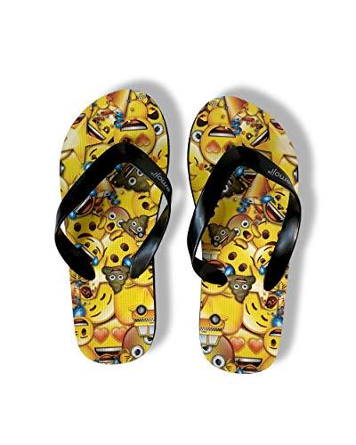 emoji Zehentrenner-Sandalen für Jungen