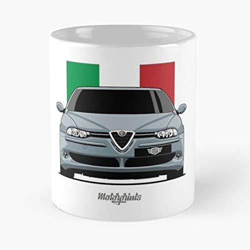 5TheWay GTA Silver Mug Best 11 oz Kaffeebecher - Nespresso Tassen Kaffee Motive