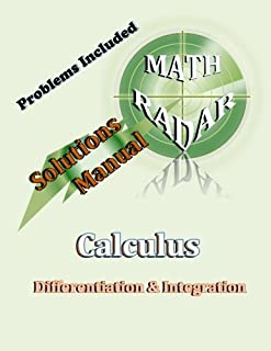 Solutions Manual - Calculus (Differentiation & Integration)