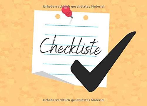 Checkliste: Übergabe-Buch mit To-Do-Liste für den Tag / Checklisten-Buch und Aufgaben-Planer mit Checkboxen zum abhaken fürs Büro oder andere dienstliche Tagesaufgaben mit Übergabeprotokoll