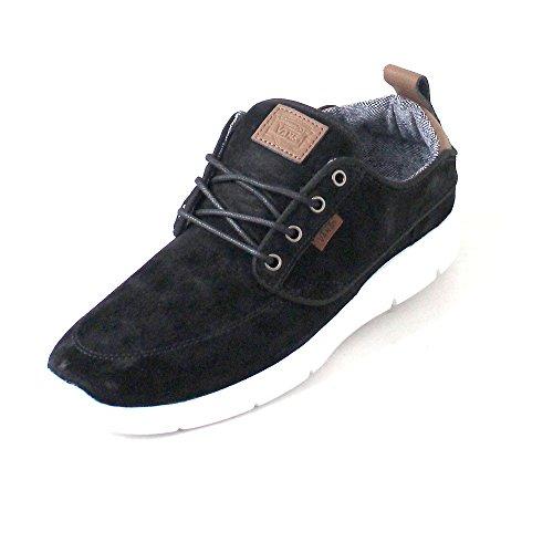 Vans Ua Brigata Lite Herren Sneaker, niedrig 39 Schwarz / Weiß