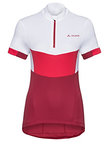 VAUDE Advanced Tricot III Maillot Femme Framboise FR : S (Taille Fabricant : 38)