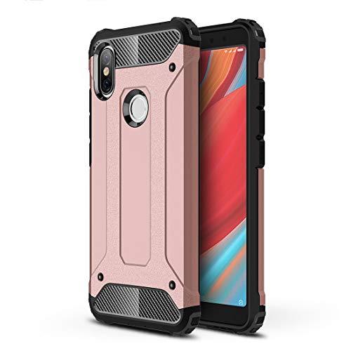 JIAHENG Caja del teléfono Magic Armor TPU + Estuche Combinado for PC for Xiaomi Redmi S2 (Negro) Cubierta de Cuero (Color : Rose Gold)