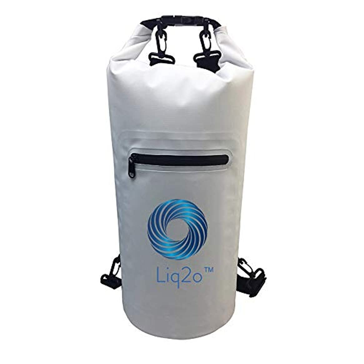 Liq2o Waterproof Dry Bag 20L | Keeps Clothing and Gear from Moisture| Great for Swimming, Kayaking, Surfing, Hiking, or Any Sporting Activity