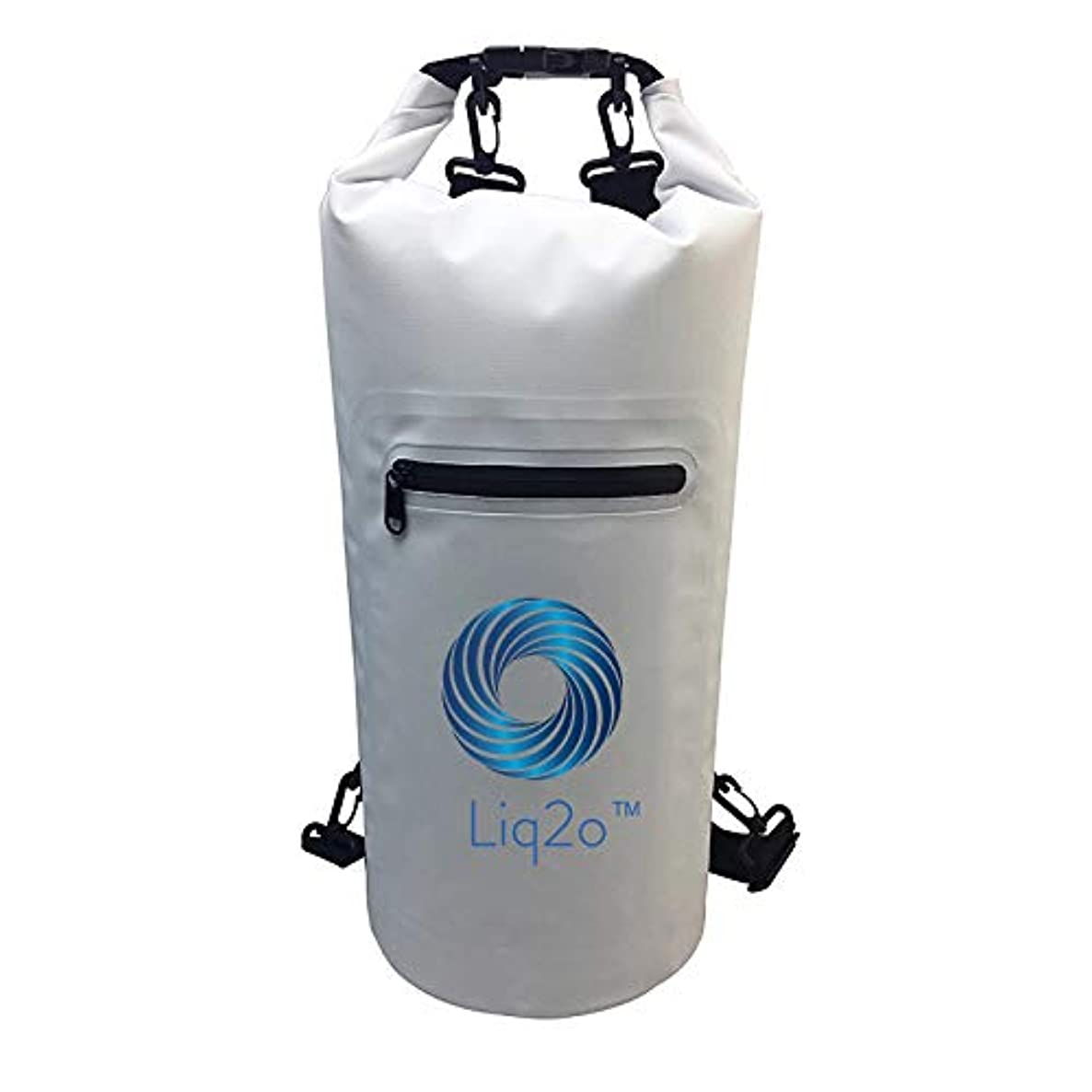 Liq2o Waterproof Dry Bag 20L   Keeps Clothing and Gear from Moisture  Great for Swimming, Kayaking, Surfing, Hiking, or Any Sporting Activity mwulkspqhkdhojei