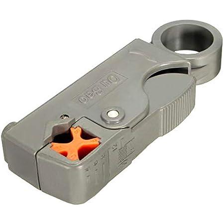Silverline 868823 - Pelacables para cable coaxial (RG6 / 58 ...