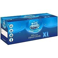 Durex: Caja de condones XL Extra Large 144 uds