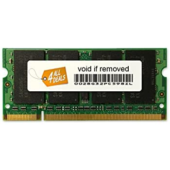 2x4GB PC2-6400 8GB DDR2-800 RAM Memory Upgrade Kit for the Dell Latitude 6400