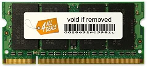 2GB (1X2GB) MEMORY RAM FOR Acer Aspire One AOD255E Series Netbook Atom N450 (DDR2-667MHz 200-pin DIMM)