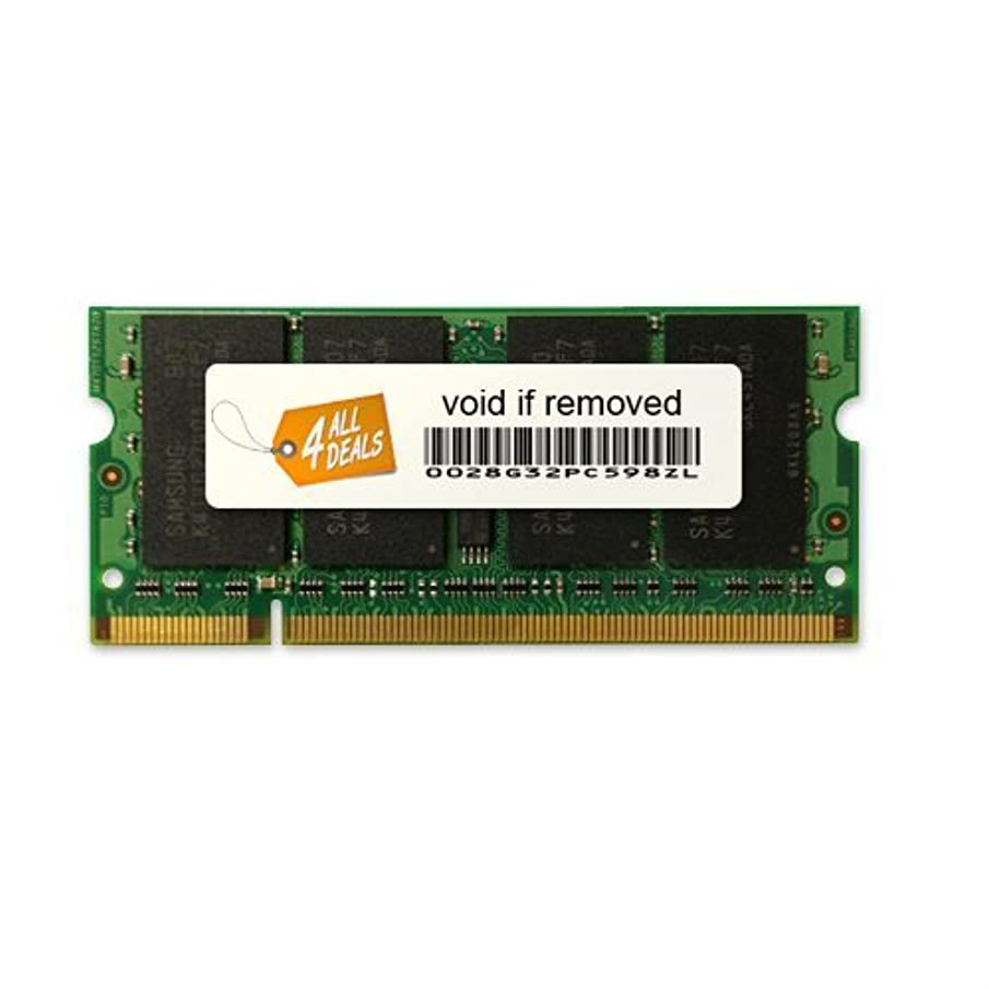 4AllDeals 4GB DDR2 Kit [2x2GB] for Dell Latitude D630 D631 D820 D830 RAM (DDR2-667MHz 200-pin DIMM)