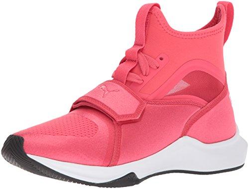 Puma Phenom Sneaker da bambino, Rosa (Paradise Pink-puma White), 28 EU