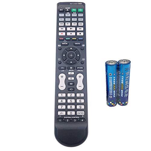 Universal Remote Control 8 in 1 TV/SAT/DVR/DVD/BD/VCR/CD/AMP by QINYUN