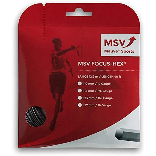 MSV Saitenset Focus-HEX, Schwarz, 12.2 m, 1.27 mm, 0355000126500012
