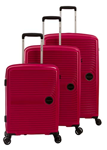 Cavalet Ahus Luggage Set, 79 cm, 112 liters, Pink (Fuxia)
