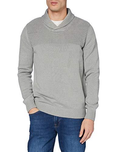 Celio PECCANO suéter, Grey Mel, S para Hombre