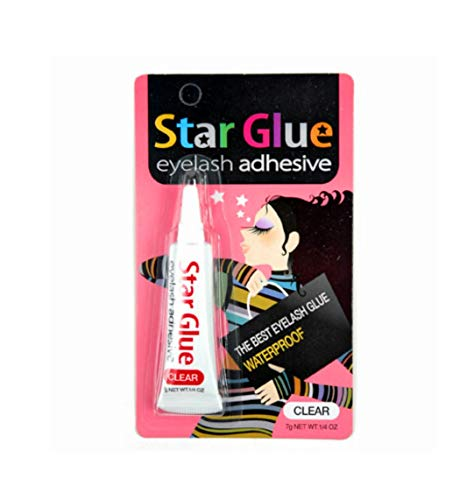 Star Eyelash Glue for Strip Lashes (Clear) 7g (1/4oz)