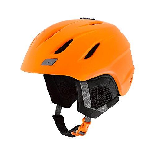 Giro Timberwolf Winter Fahrrad Helm orange 2019: Größe: M (55,5-59cm)