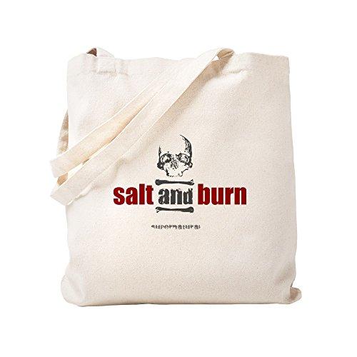 CafePress Supernatural Tasche für Salz und Burn Tote S khaki