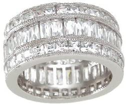 Jewellerygenie Wedding Rings for Women-Engagement Sterling 高級 オリジナル Ring-