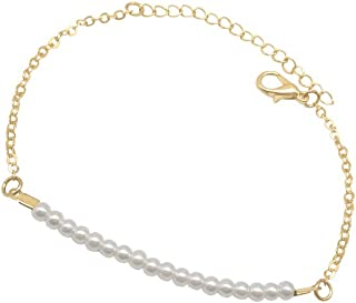 gold belcher bracelet womens