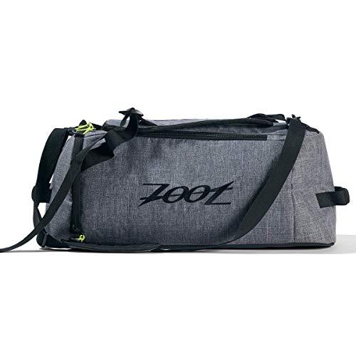 Zoot Ultra Tri Duffel – Canvas Gray Triathlon Transition Bag for Men & Women