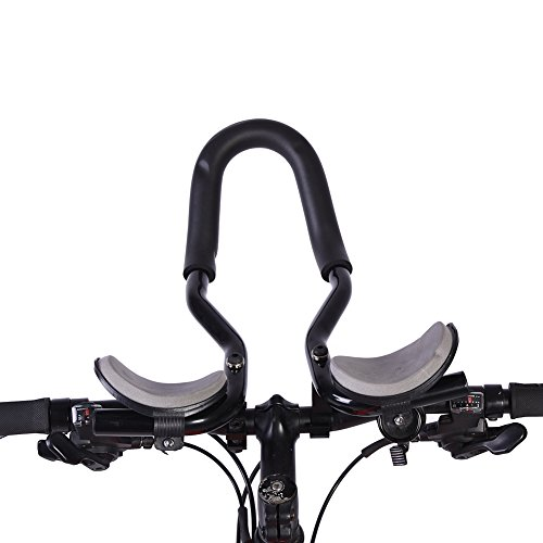 Manillar para Triatlón Bicicleta Manillares MTB Resto Manillar Manillares de Relajación Cojín de Esponja