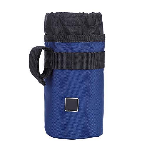 Starbun Bolsa para Botella de Agua-Bicicleta Soporte para Botella de Agua Bolsa Ciclo portátil Caldera para Bicicleta Aislante Jaula(Azul)