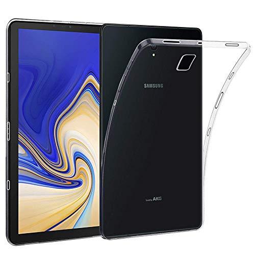 ebestStar - Cover Compatibile con Samsung Galaxy Tab S4 10.5 SM-T830, SM-T835 Custodia Trasparente Silicone Gel TPU Protezione Morbida, Trasparente [Apparecchio: 249.3 x 164.3 x 7.1mm, 10.5'']