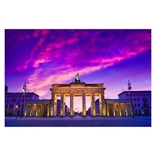 Fototapete selbstklebend - Das ist Berlin! - Wandbild Querformat 255 x 384 cm