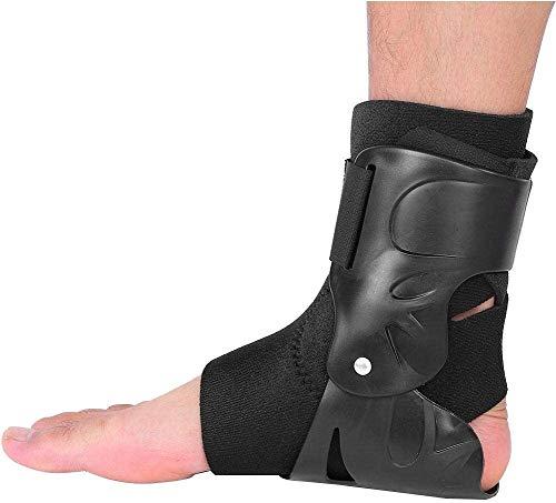 Soporte de tobillo comprimido, transpirable y cómodo. La vaina del tobillo estabiliza los ligamentos. Se utiliza para la rehabilitación de lesiones, Dolor articular con el apoyo del pie