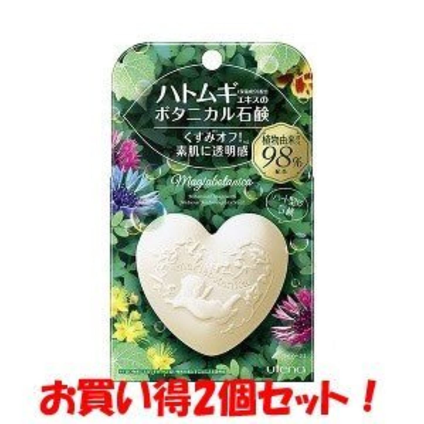 できないの配列力(ウテナ)マジアボタニカ ボタニカル石鹸 100g(お買い得2個セット)