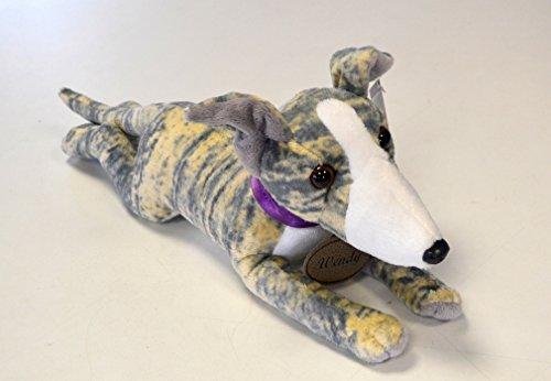 Helpful Hounds Blue Brindle Greyhound Whippet Lurcher Soft Toy - Wendy