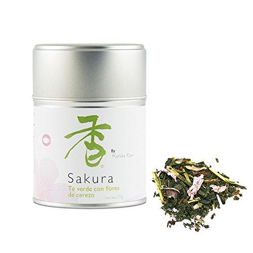 Matcha Kaori Té Verde Con Flores De Cerezo Sakura - 70G