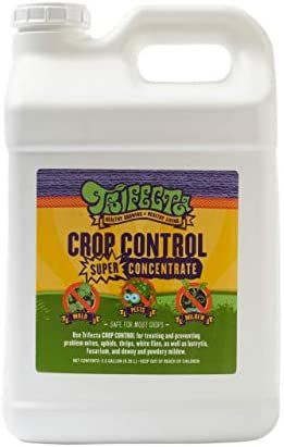Trifecta Crop Control Super Concentrate All-in-One Natural Pesticide, Fungicide, Miticide, Insecticide, Help Defeat Spider Mites, Powdery Mildew, Botrytis, Mold, and More on Plants 4 OZ