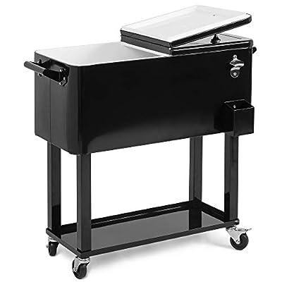 BELLEZE Outdoor-Kitchen-Cooler-Bins