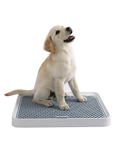 PETKIT Dog Training Toilet (20.5'' x 15.35'' x 1.85''), Indoor Dog Toilet for Dogs and Small Pets, Portable Dog Potty Tray Anti-Slip, Easy to Clean