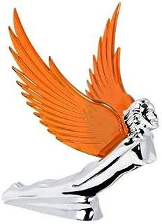 Grand General Chrome Flying Goddess Hood Ornament - Amber