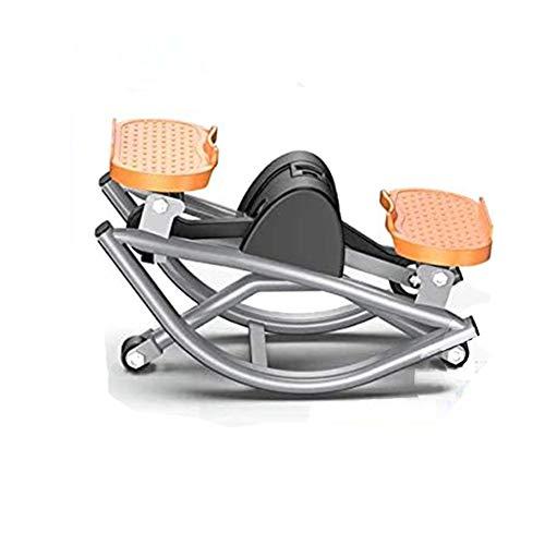 Ababy Swing-Stepper, Crosstrainer Trainingsgeräte für Zuhause mit Expander Mini Stepper Kettler für Bauch Beine Po Trainingsgerät