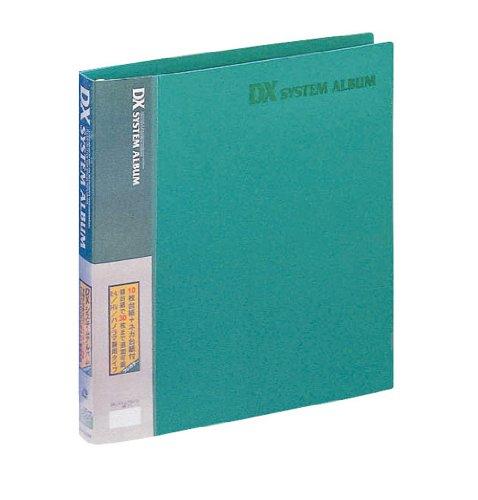FUJICOLOR アルバム ポケット バインダー式アルバム DXシステムアルバム L 101~150枚 グリーン 47960