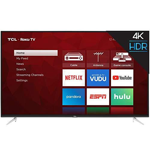 """TCL 55S423 55"""" Class (54.6"""" Diag) 4K UHD Roku LED LCD"""