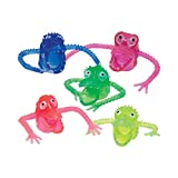 Giggle Time Monster Finger Puppet Assortment (72) Pieces   Scary Monster Toys   1 inch per Finger Puppet   Comes in Assorted Colors