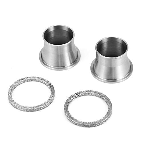 WeiSen Exhaust Port Torque Power Cones w/Gasket Kits Compatible with 1984-2017 Harley Davidson Touring Softail Dyna Sportster 883 1200 Big Twin
