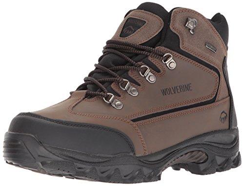 WOLVERINE mens W05103 Spencer hiking boots, Brown/Black, 8.5 US